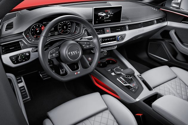 2017 Audi A5 And S5 Coup 233 All New Under The Skin