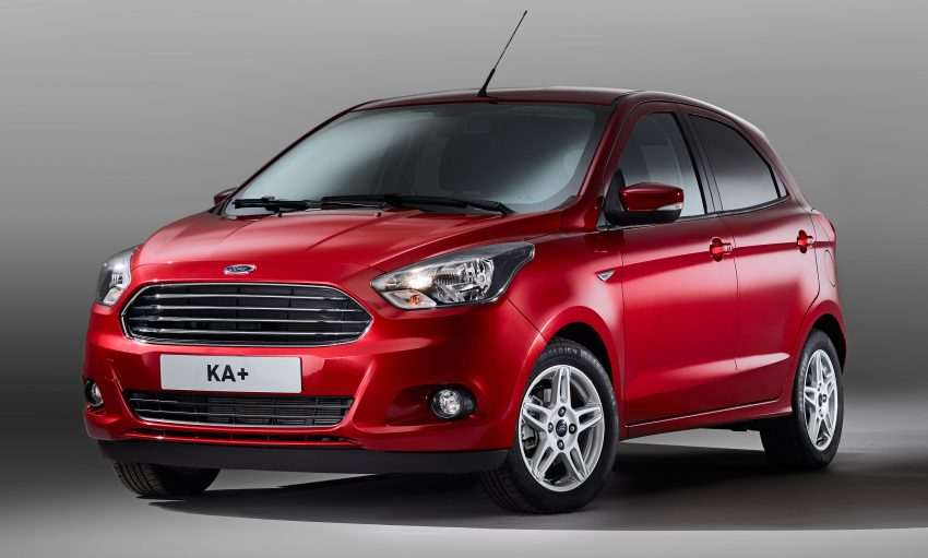 Ford KA+ makes European debut – it's the Figo Image #505175