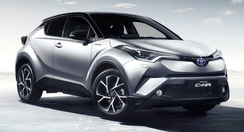 2017 Toyota C-HR – production SUV's interior revealed Image #513092