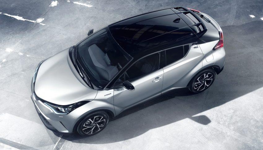 2017 Toyota C-HR – production SUV's interior revealed Image #513096