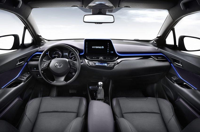 2017 Toyota C-HR – production SUV's interior revealed Image #513104