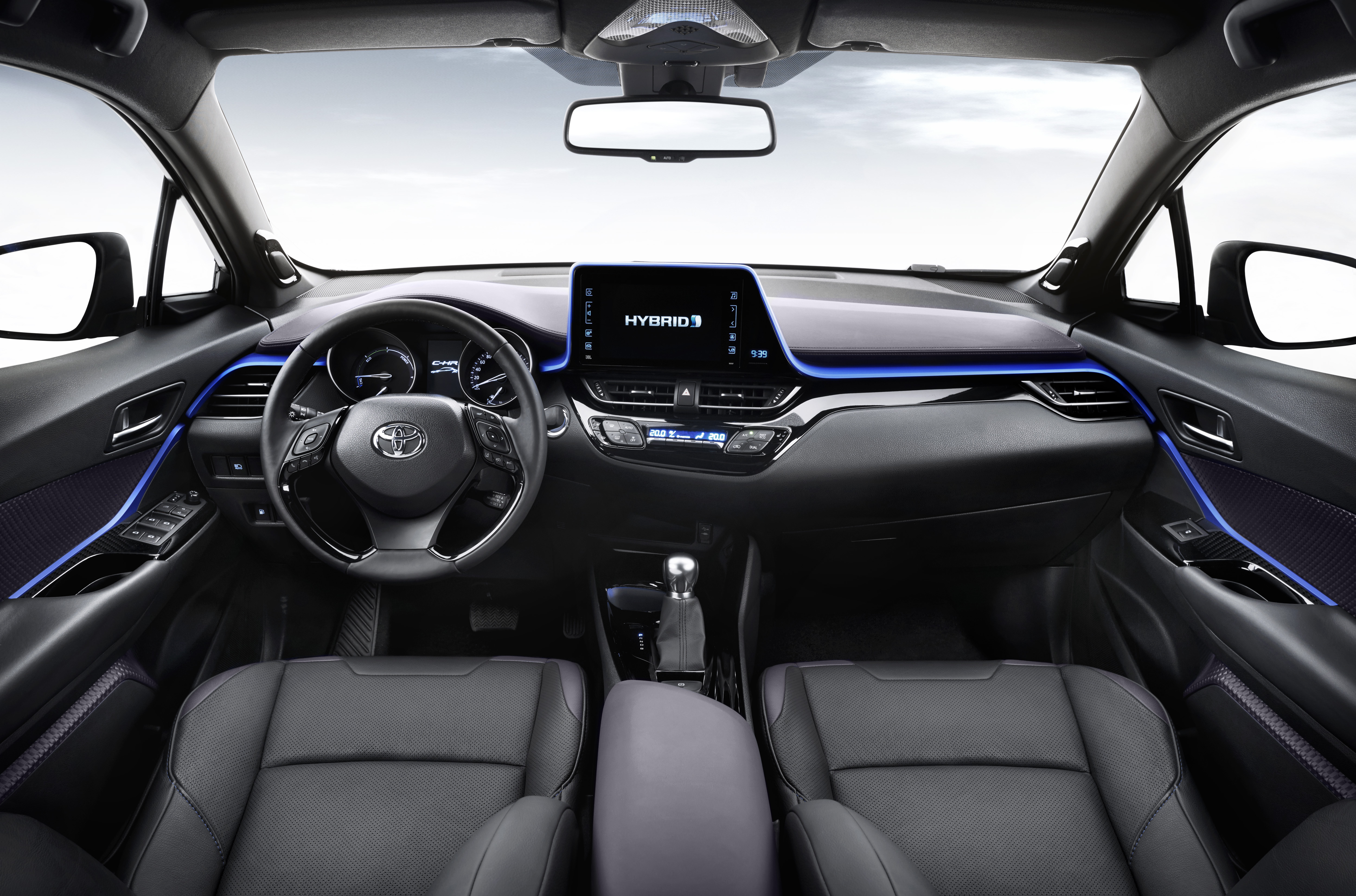2017 toyota c-hr - production suv's interior revealed