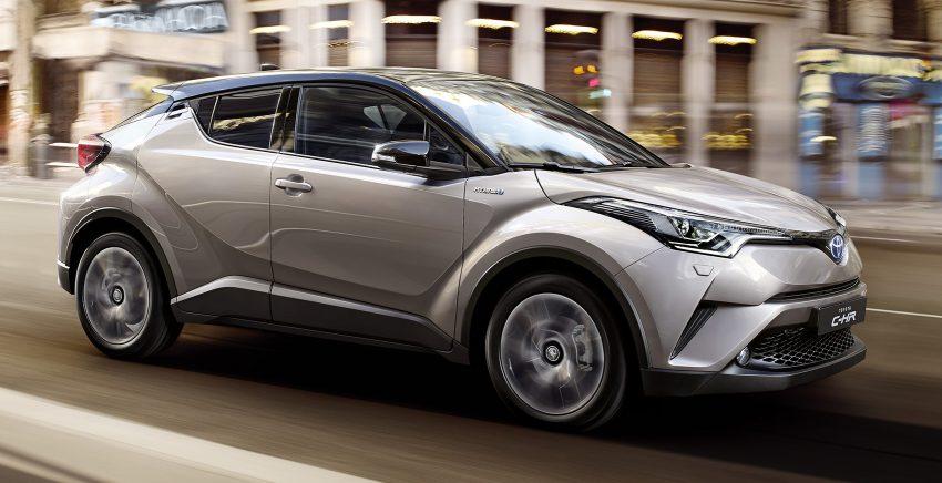 2017 Toyota C-HR – production SUV's interior revealed Image #513087
