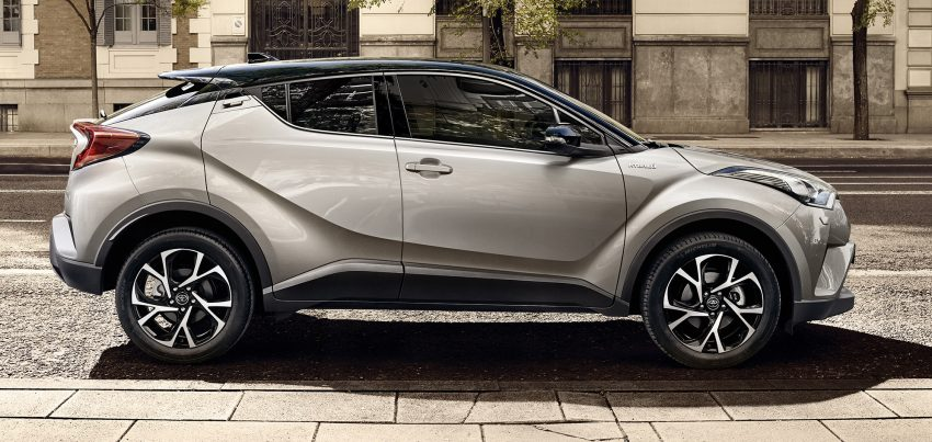2017 Toyota C-HR – production SUV's interior revealed Image #513088