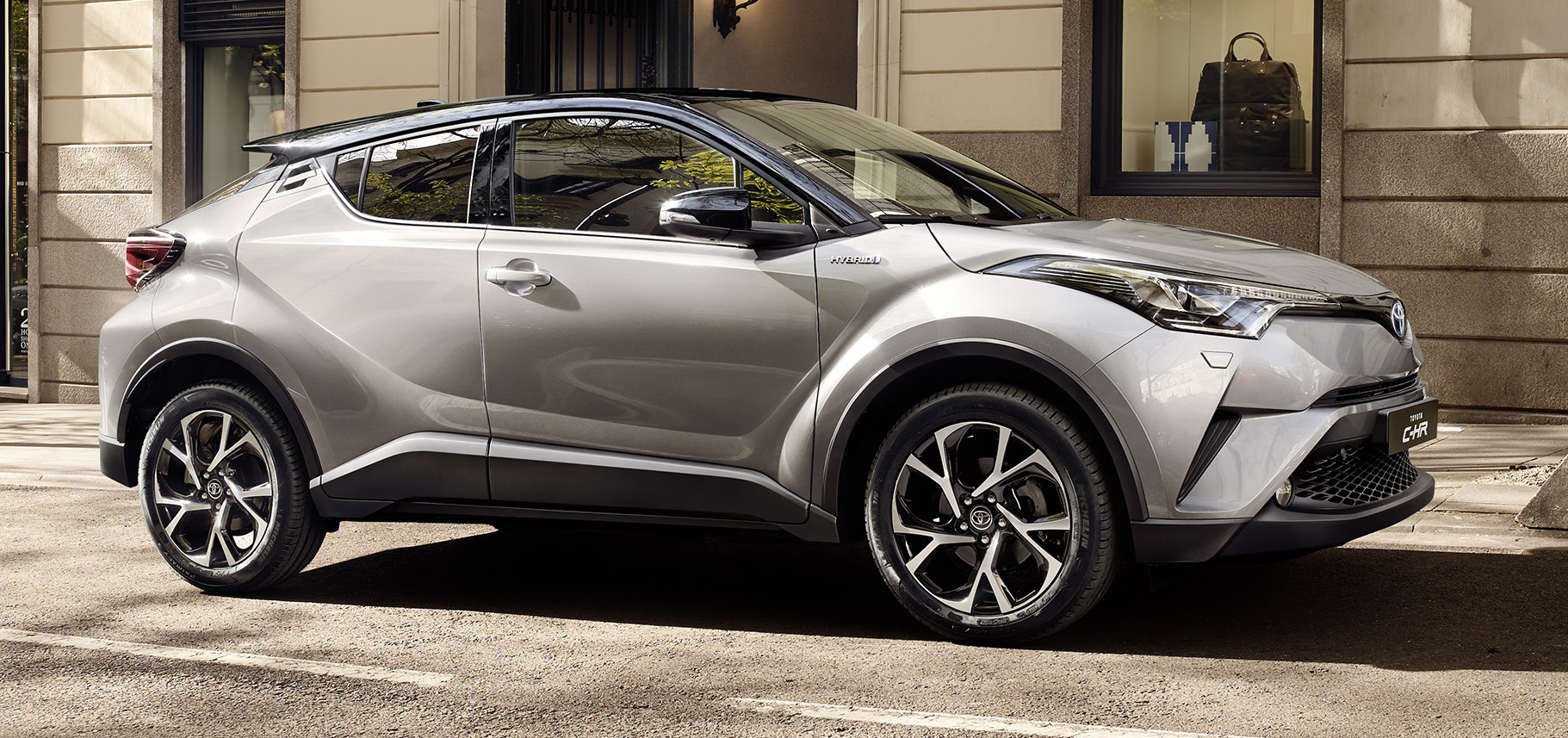 2017 Toyota C-HR – production SUV's interior revealed ...