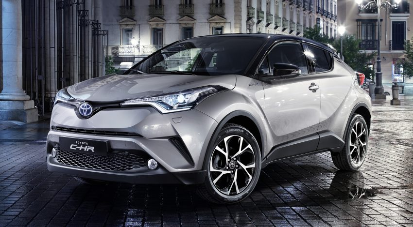2017 Toyota C-HR – production SUV's interior revealed Image #513090