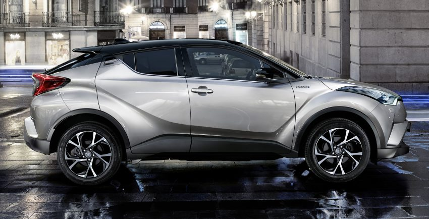 2017 Toyota C-HR – production SUV's interior revealed Image #513091