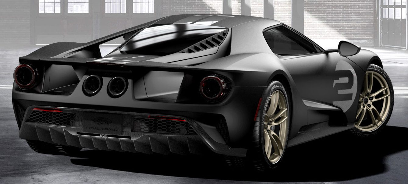 Ford GT '66 Heritage Edition – homage to Le Mans win Image 512981