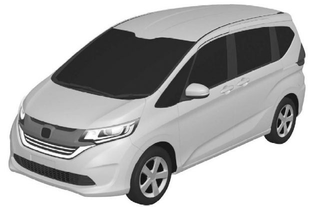 2017 Honda Freed patents 1