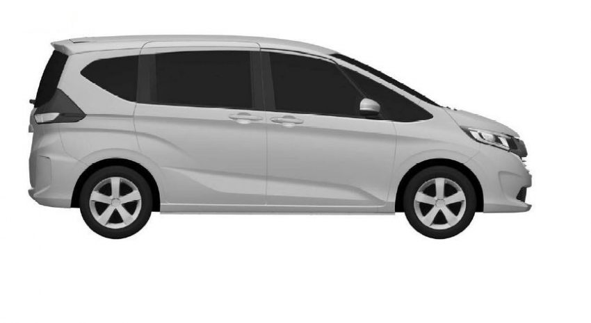 All-new 2016 Honda Freed MPV patent images leaked Image #512586
