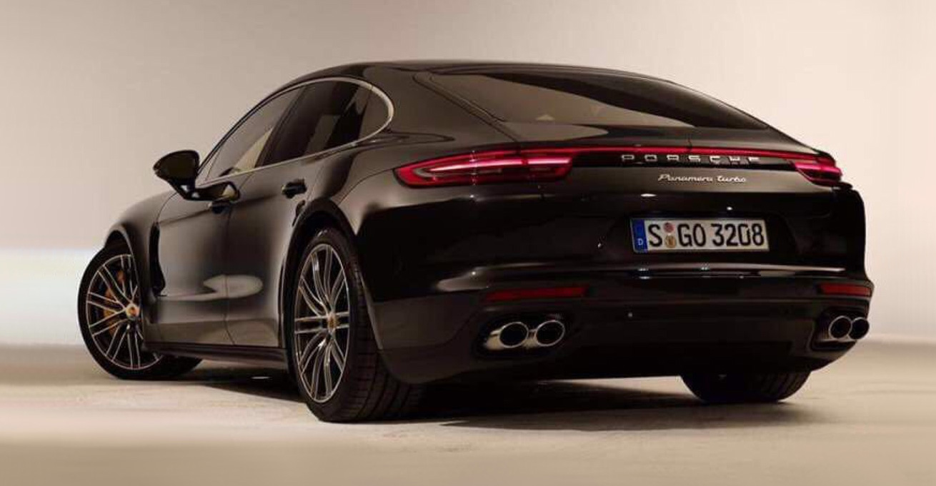 New 2017 Porsche Panamera  official images leaked