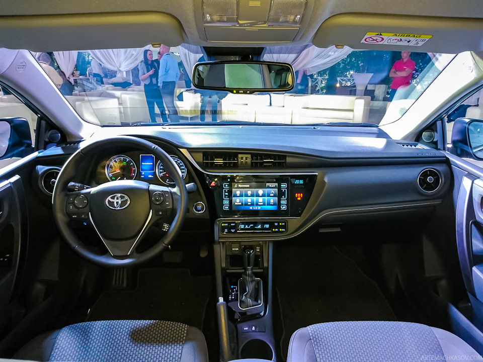 2017 Toyota Corolla Facelift Introduced In Russia Image 512024