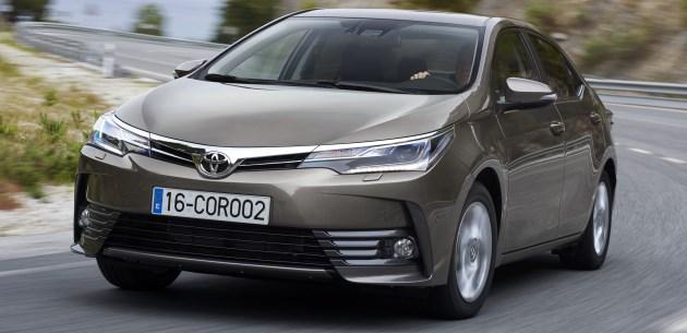 Toyota Corolla 2017 dipertingkatkan – Imej dengan suntikan ringkas dan perincian baharu didedahkan Image #504830