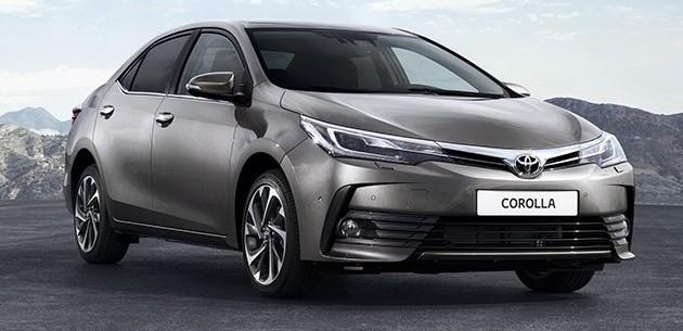 Toyota Corolla 2017 dipertingkatkan – Imej dengan suntikan ringkas dan perincian baharu didedahkan Image #504831