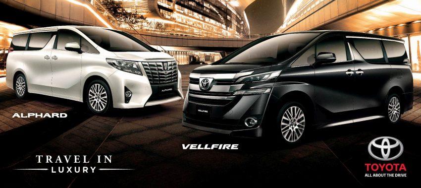Toyota Alphard and Vellfire 2016 dibuka tempahan – RM420k-RM520k untuk Alphard, RM355k untuk Vellfire Image #502203