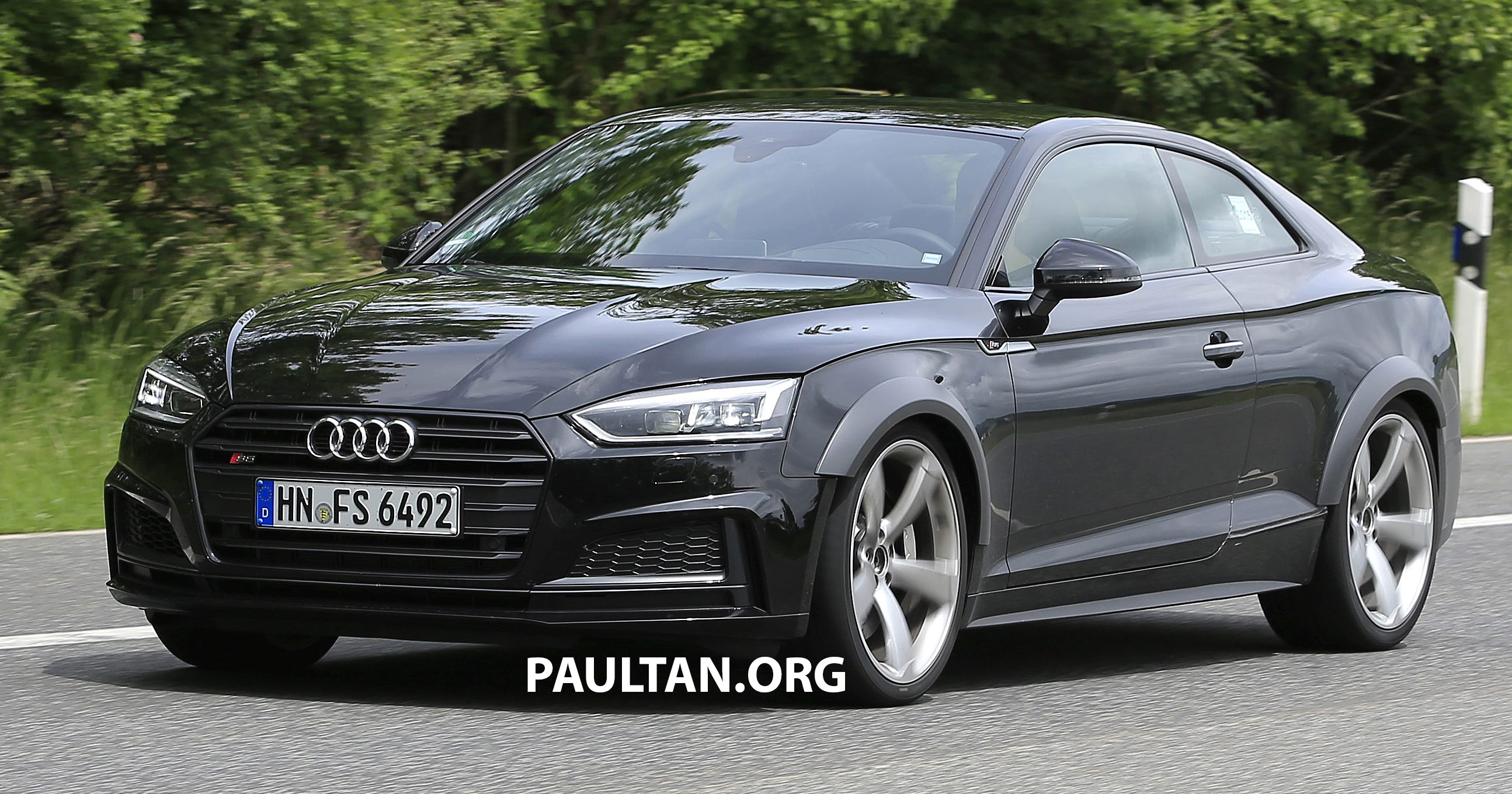 Spyshots Audi Rs5 Seen Testing In S5 Overalls Image 509231