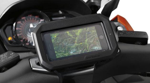 BMW Motorrad smartphone cradle - 4