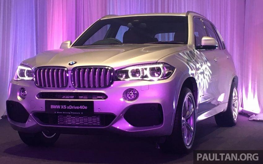F15 BMW X5 xDrive40e M Sport plug-in hybrid SUV launched in Malaysia – RM388,800 OTR w/o insurance Image #511846