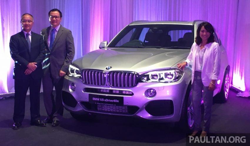F15 BMW X5 xDrive40e M Sport plug-in hybrid SUV launched in Malaysia – RM388,800 OTR w/o insurance Image #511847