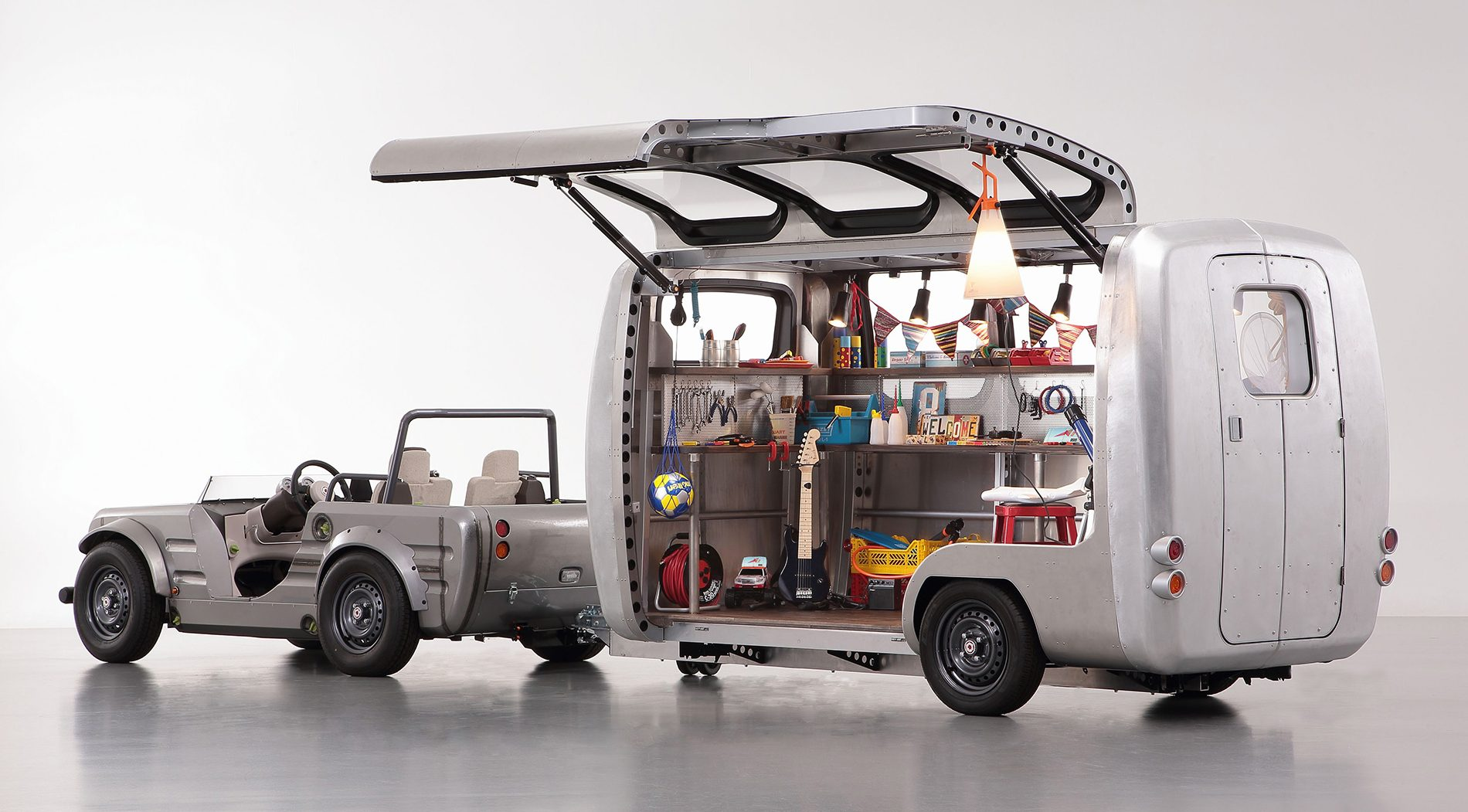 Toyota Camatte Capsule Trailer To Introduce Kids To Cars Interior Now Customisable As Virtual
