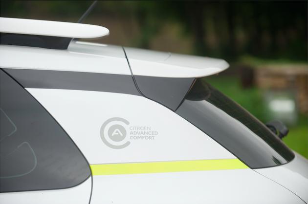 Citroen Advanced Comfort closeup