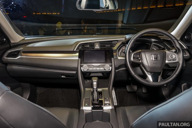 Civic interior 2