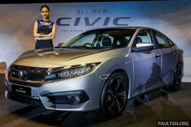 2016 Honda Civic Fc Launched In Malaysia 1 8l And 1 5l Vtec Turbo