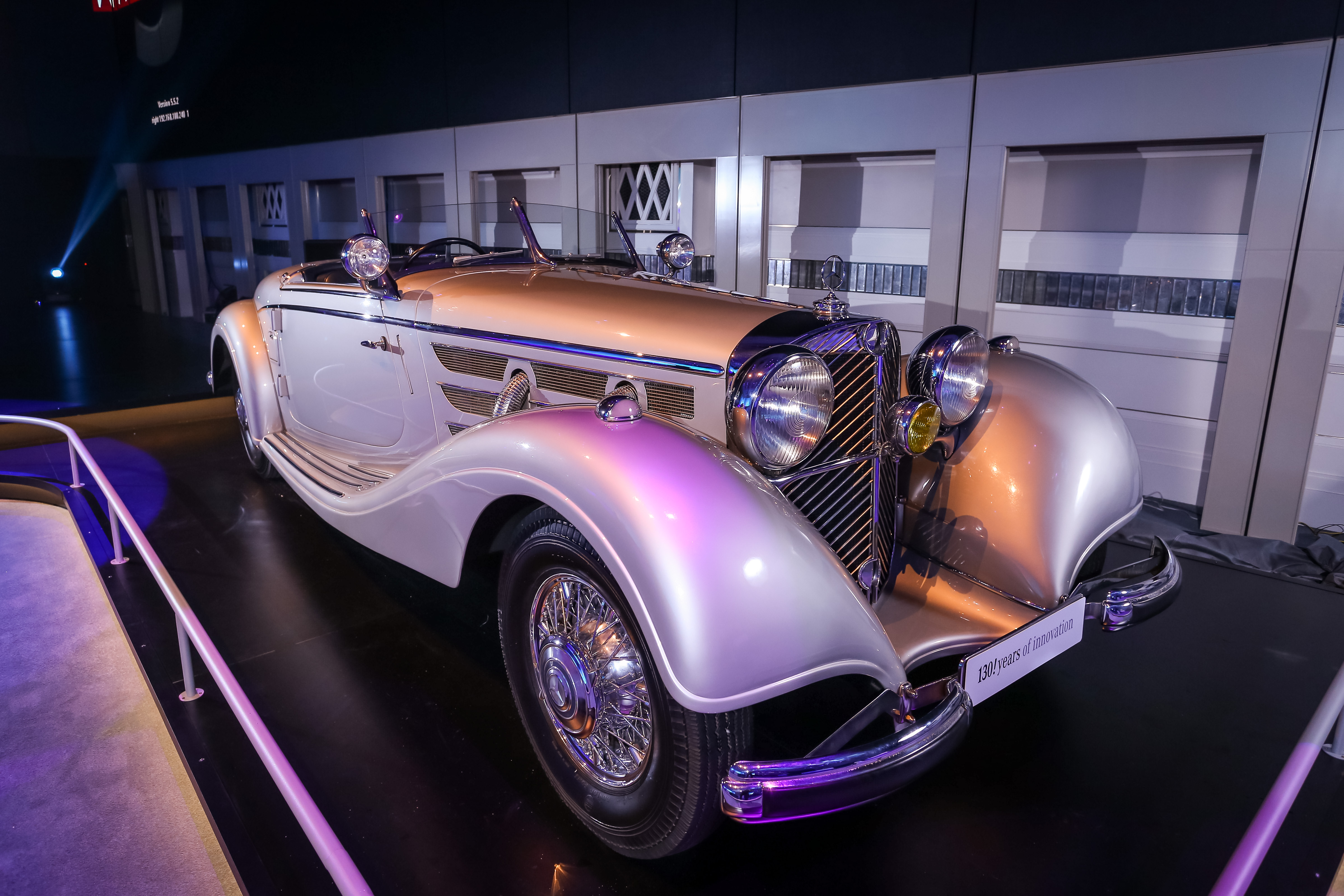 GALLERY: Mercedes-Benz classic cars at W213 E-Class launch – 540 K ...