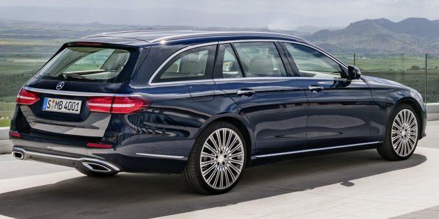 S213 Mercedes Benz E Class Estate Officially Unveiled