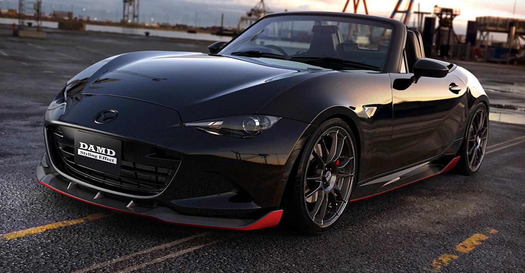 Twin City Mazda >> DAMD Dark Knight Mazda MX-5 - a sinister Roadster