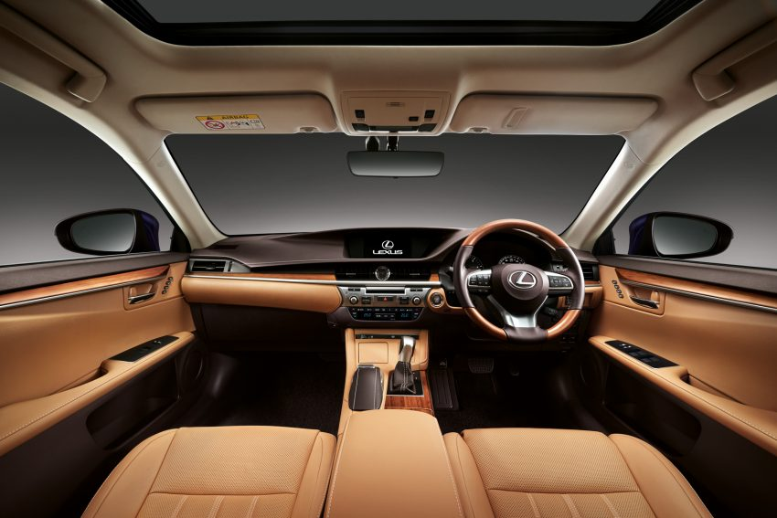 Lexus Malaysia introduces limited-edition ES250 Luxury – two exclusive colours, only 50 units Image #507283