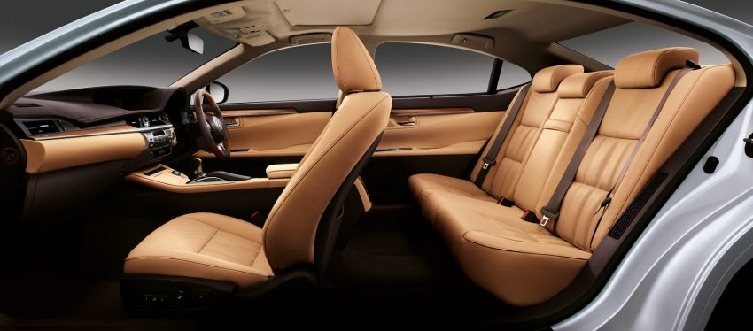 Lexus Malaysia introduces limited-edition ES250 Luxury – two exclusive colours, only 50 units Image #507285