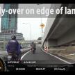 Federal Highway motorcycle lane - 107