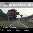 Federal Highway motorcycle lane - 114