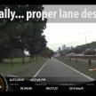 Federal Highway motorcycle lane - 116