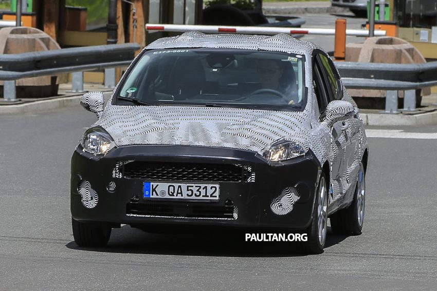 SPIED: 2017 Ford Fiesta caught in production body Image #504725