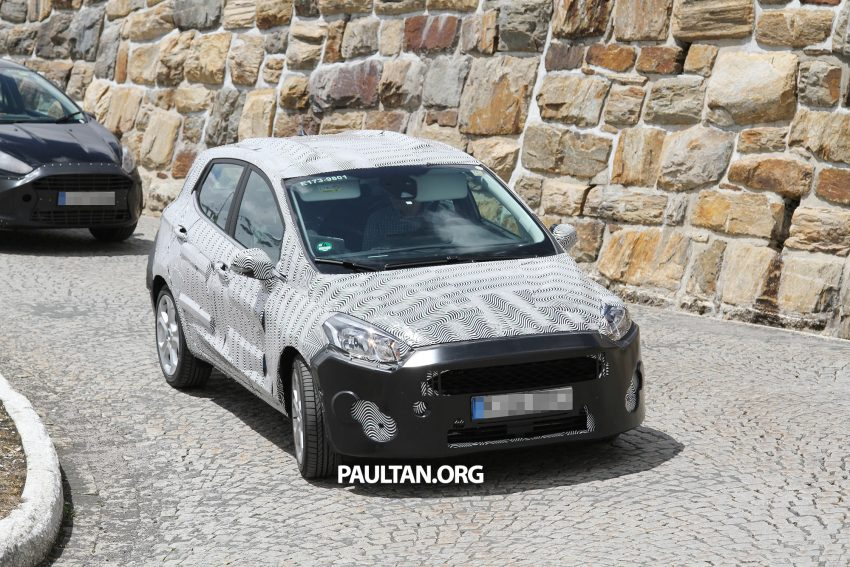 SPIED: 2017 Ford Fiesta caught in production body Image #505249