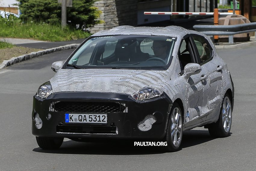 SPIED: 2017 Ford Fiesta caught in production body Image #504726