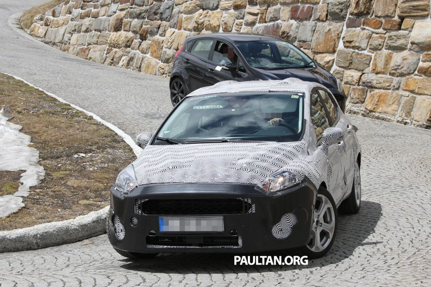 SPIED: 2017 Ford Fiesta caught in production body Image #505255