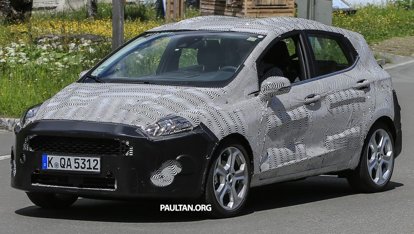 SPIED: 2017 Ford Fiesta caught in production body Image #504727