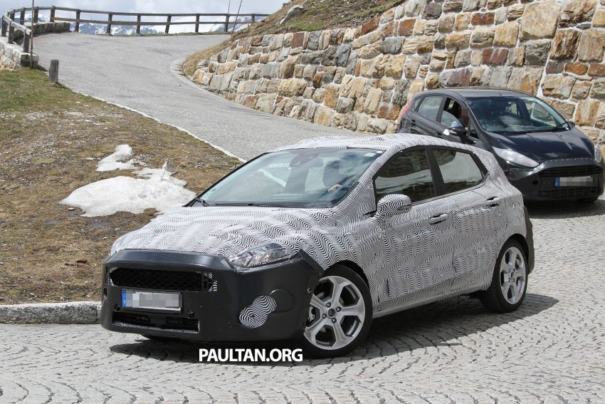 SPIED: 2017 Ford Fiesta caught in production body Image #505252