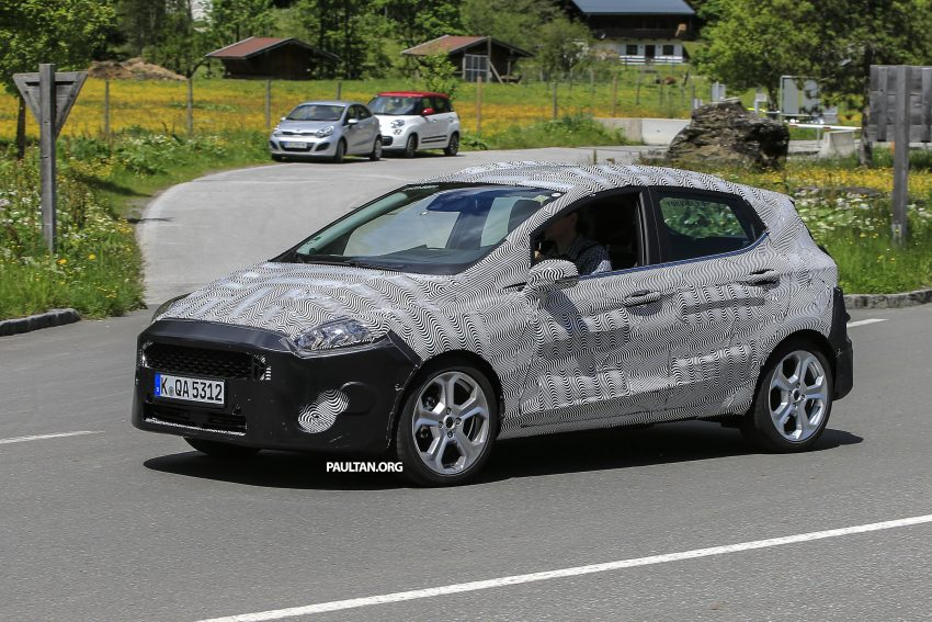 SPIED: 2017 Ford Fiesta caught in production body Image #504728