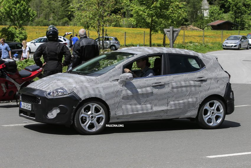 SPIED: 2017 Ford Fiesta caught in production body Image #504729