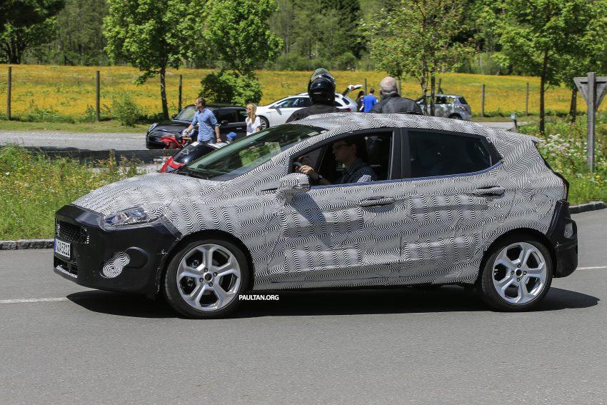 SPYSHOT: Ford Fiesta 2017 dikesan sedang diuji Image #505017