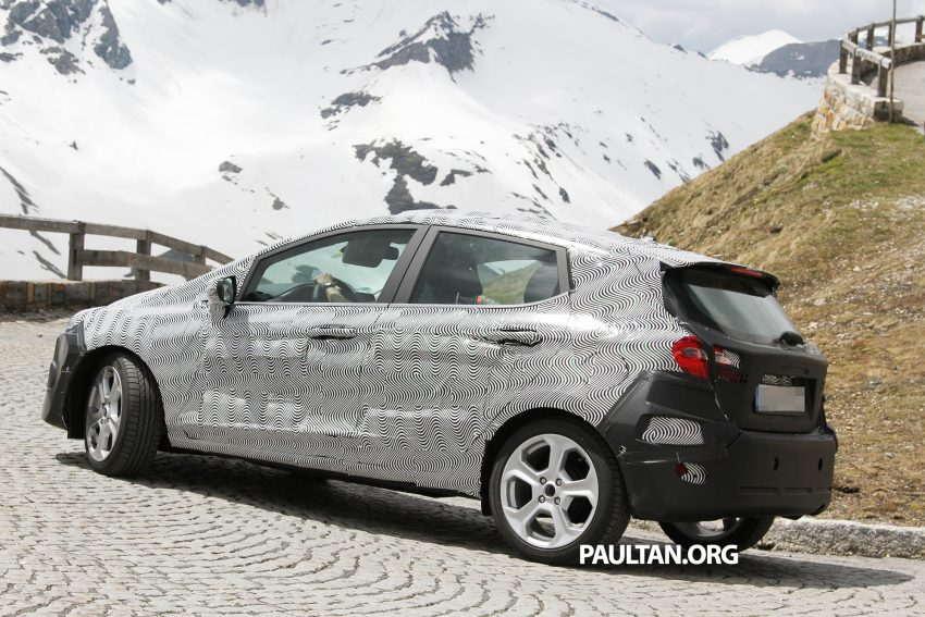 SPIED: 2017 Ford Fiesta caught in production body Image #505247