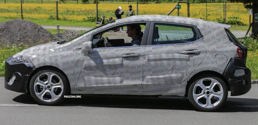 SPYSHOT: Ford Fiesta 2017 dikesan sedang diuji Image #505018