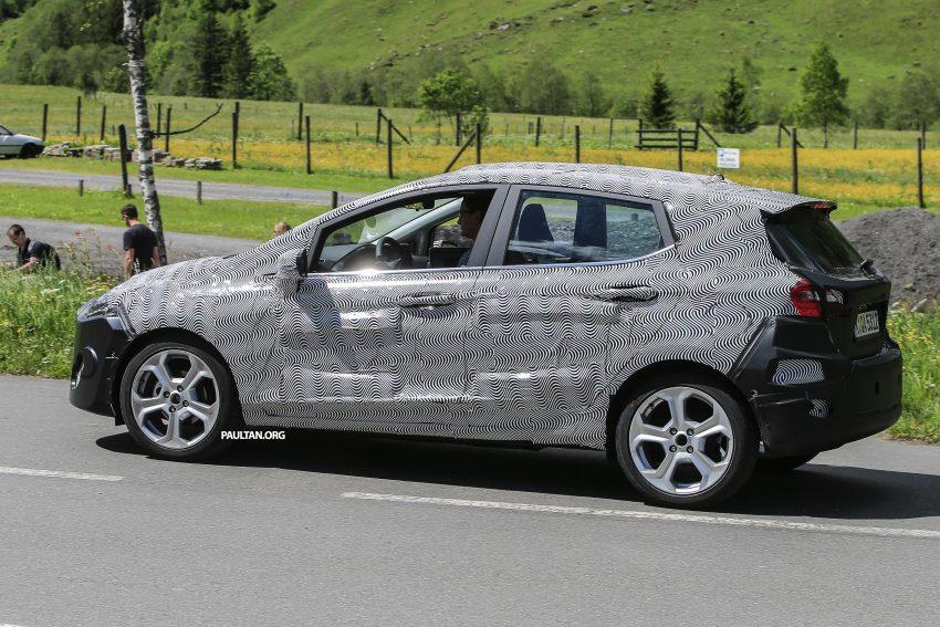 SPYSHOT: Ford Fiesta 2017 dikesan sedang diuji Image #505019
