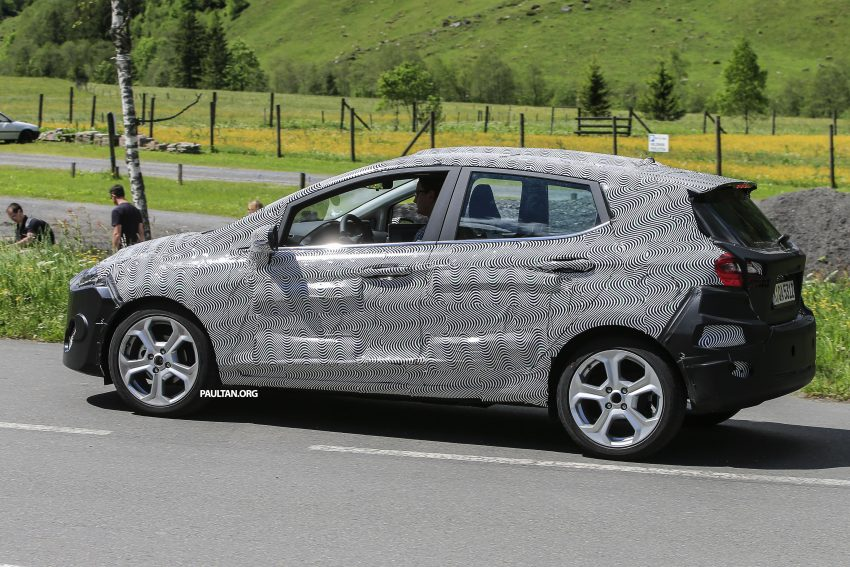 SPIED: 2017 Ford Fiesta caught in production body Image #504732