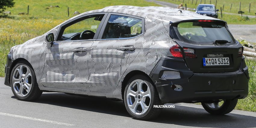 SPIED: 2017 Ford Fiesta caught in production body Image #504734