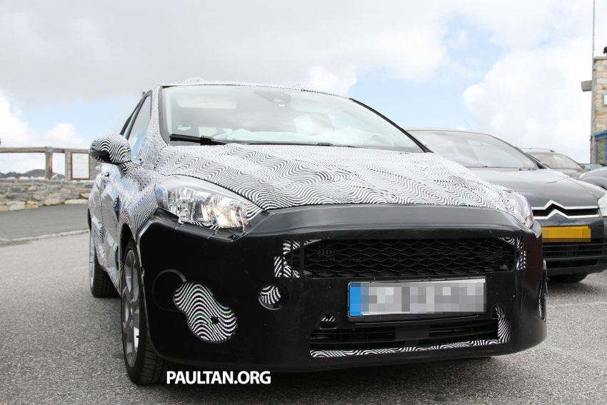 SPIED: 2017 Ford Fiesta caught in production body Image #505243